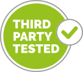 Third party tested